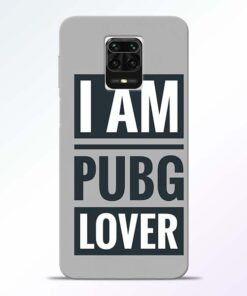 PubG Lover Redmi Note 9 Pro Max Back Cover