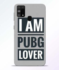 PubG Lover Samsung Galaxy M31 Back Cover