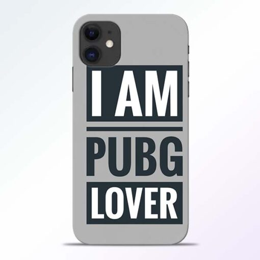 PubG Lover iPhone 11 Back Cover