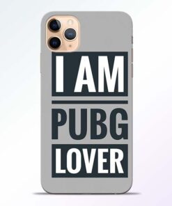 PubG Lover iPhone 11 Pro Back Cover