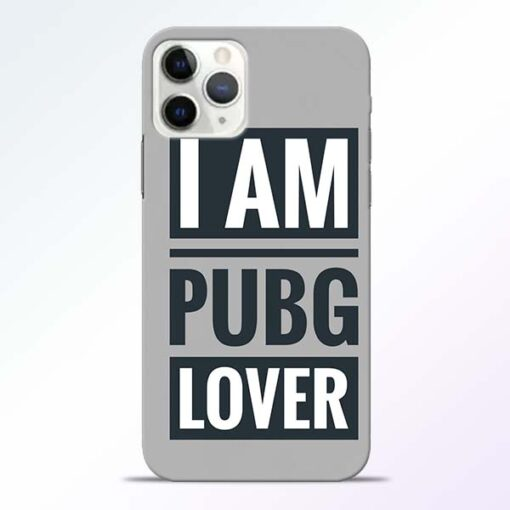 PubG Lover iPhone 11 Pro Max Back Cover
