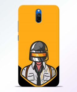 Pubg Face Redmi 8A Dual Back Cover