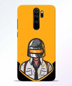 Pubg Face Redmi Note 8 Pro Back Cover