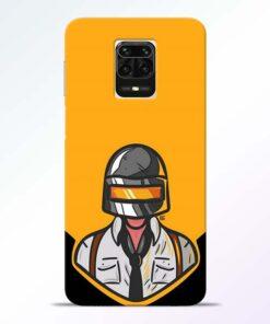 Pubg Face Redmi Note 9 Pro Max Back Cover