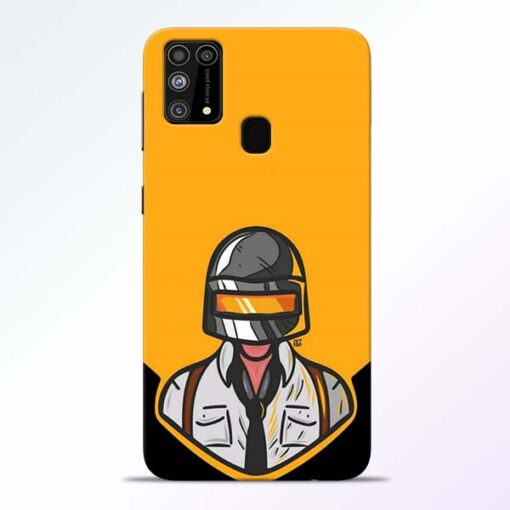 Pubg Face Samsung Galaxy M31 Back Cover