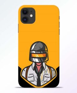 Pubg Face iPhone 11 Back Cover