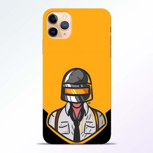 Pubg Face iPhone 11 Pro Back Cover