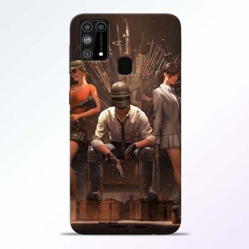 Pubg Girl Samsung Galaxy M31 Back Cover