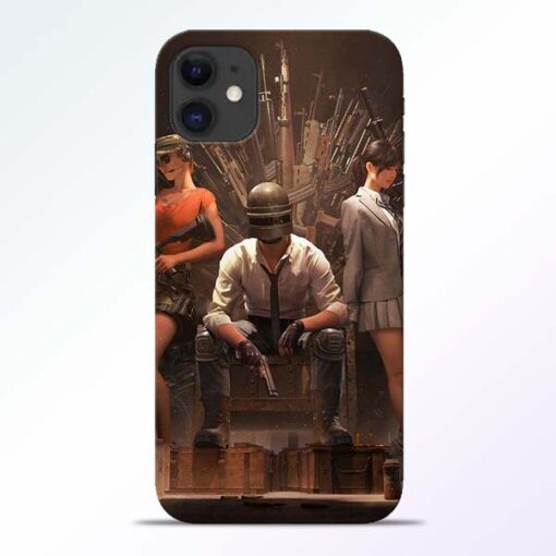 Pubg Girl iPhone 11 Back Cover