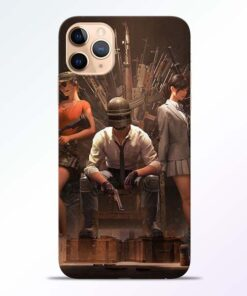 Pubg Girl iPhone 11 Pro Back Cover