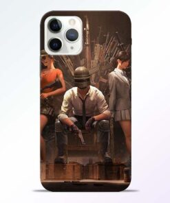 Pubg Girl iPhone 11 Pro Max Back Cover