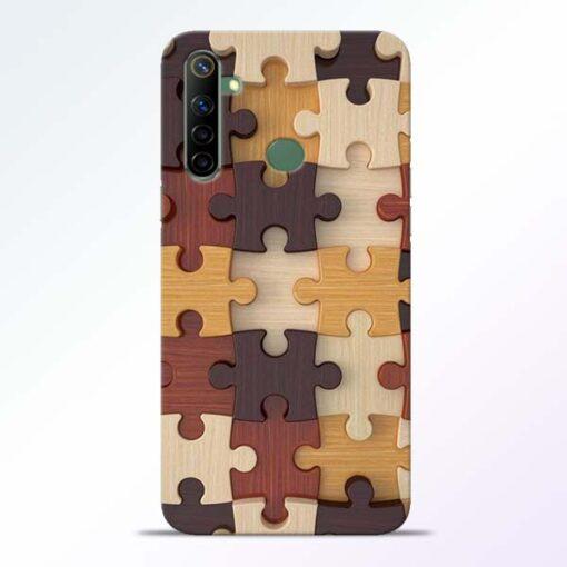 Puzzle Pattern Realme 6i Back Cover