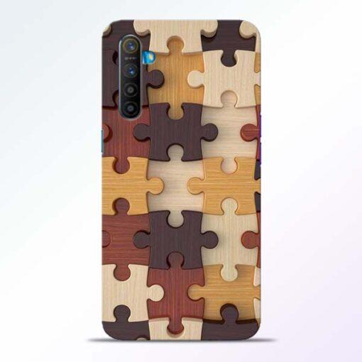 Puzzle Pattern Realme XT Back Cover