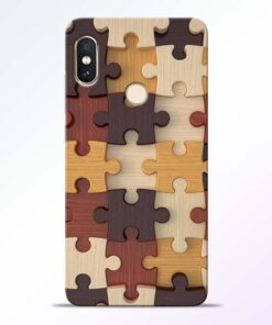 Puzzle Pattern Redmi Note 5 Pro Back Cover