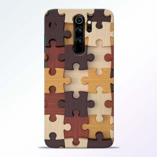 Puzzle Pattern Redmi Note 8 Pro Back Cover