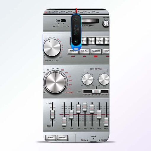 Radio Beat Poco X2 Back Cover