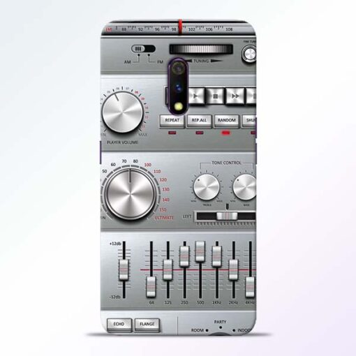Radio Beat Realme X Back Cover