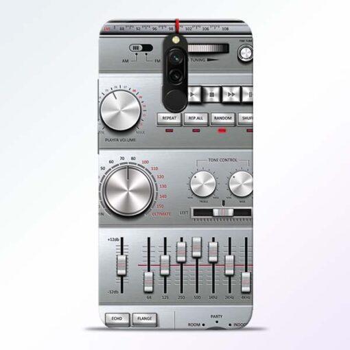 Radio Beat Redmi 8 Back Cover