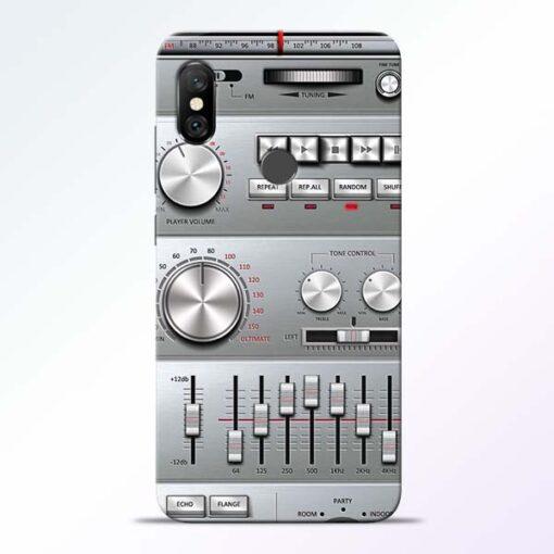 Radio Beat Redmi Note 6 Pro Back Cover