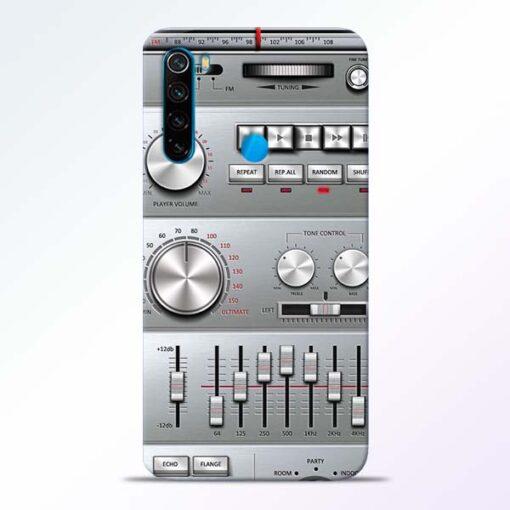 Radio Beat Redmi Note 8 Back Cover