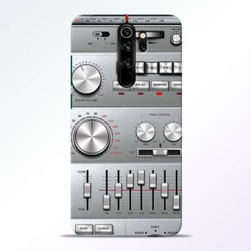 Radio Beat Redmi Note 8 Pro Back Cover