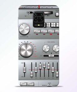 Radio Beat Redmi Note 9 Pro Back Cover