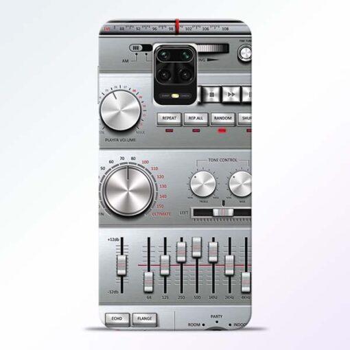 Radio Beat Redmi Note 9 Pro Max Back Cover