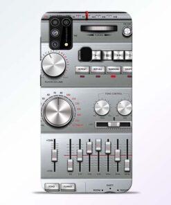 Radio Beat Samsung Galaxy M31 Back Cover