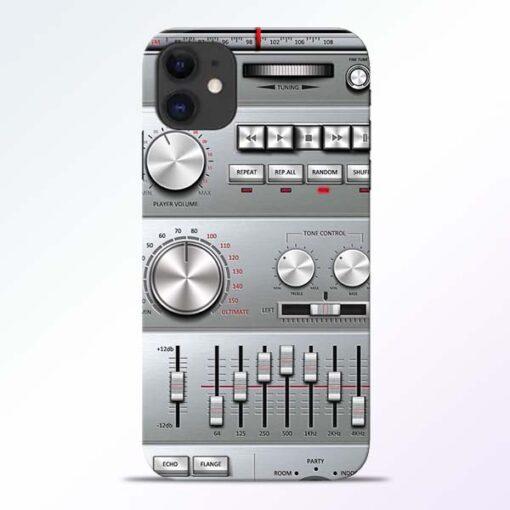 Radio Beat iPhone 11 Back Cover
