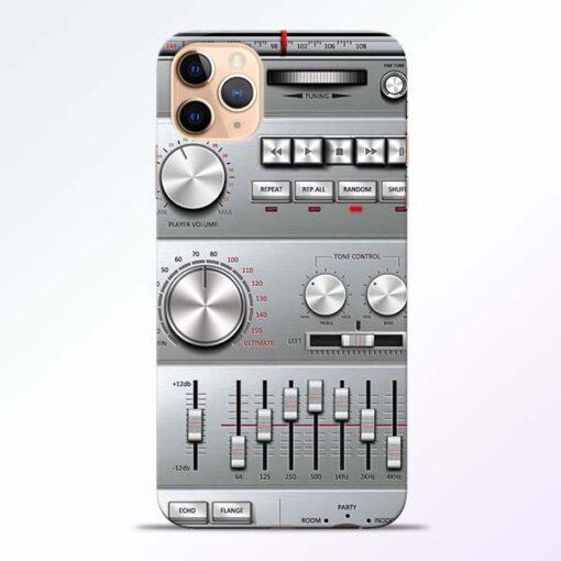 Radio Beat iPhone 11 Pro Back Cover