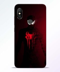 Red Spider Redmi Note 6 Pro Back Cover