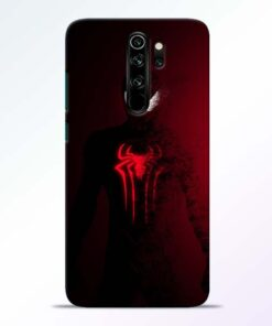 Red Spider Redmi Note 8 Pro Back Cover