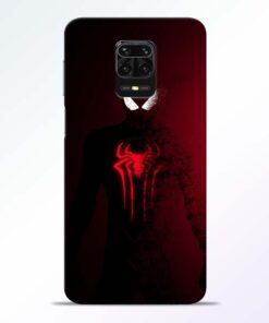 Red Spider Redmi Note 9 Pro Back Cover