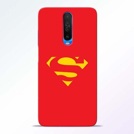 Red Super Poco X2 Back Cover