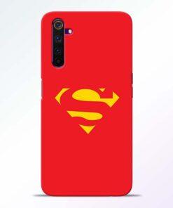 Red Super Realme 6 Back Cover