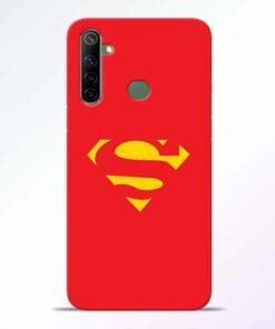 Red Super Realme 6i Back Cover