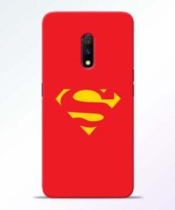 Red Super Realme X Back Cover