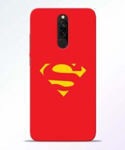 Red Super Redmi 8 Back Cover