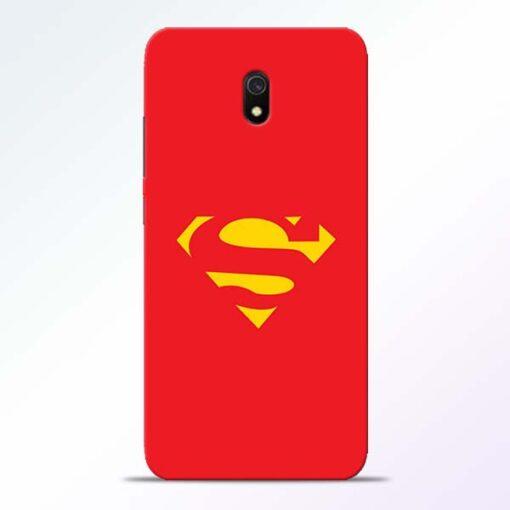 Red Super Redmi 8A Back Cover