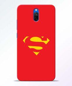 Red Super Redmi 8A Dual Back Cover