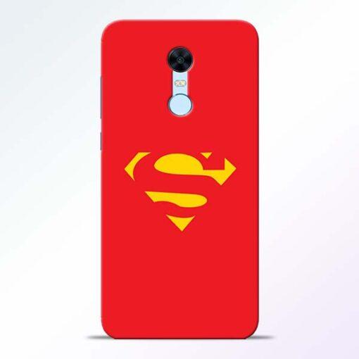 Red Super Redmi Note 5 Back Cover