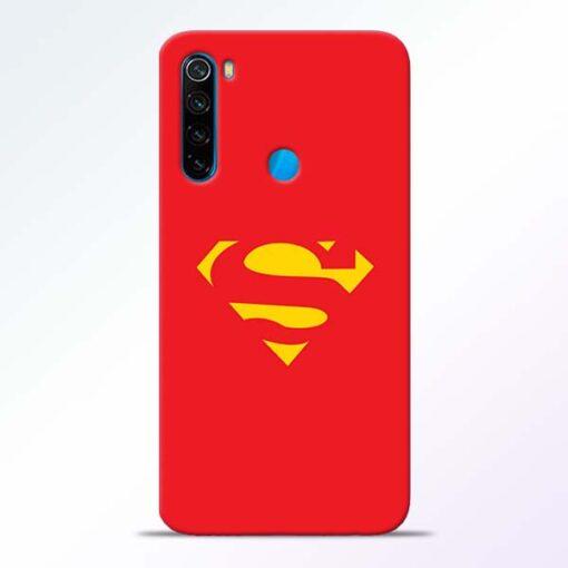 Red Super Redmi Note 8 Back Cover