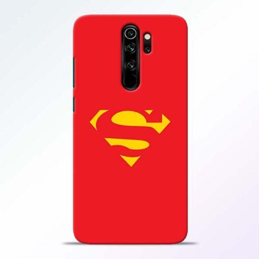 Red Super Redmi Note 8 Pro Back Cover