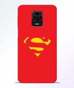 Red Super Redmi Note 9 Pro Back Cover