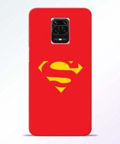 Red Super Redmi Note 9 Pro Max Back Cover