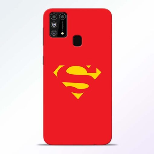 Red Super Samsung Galaxy M31 Back Cover