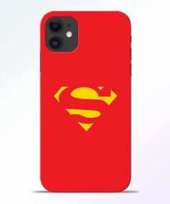 Red Super iPhone 11 Back Cover