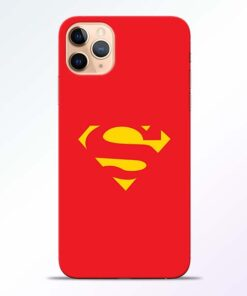 Red Super iPhone 11 Pro Back Cover