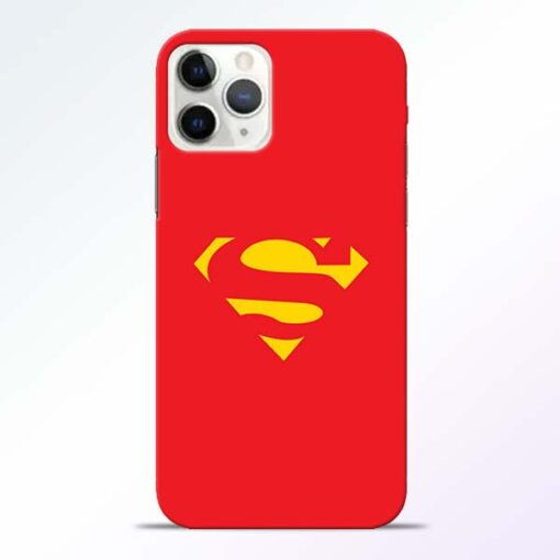 Red Super iPhone 11 Pro Max Back Cover