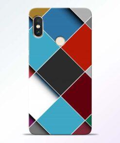 Square Check Redmi Note 5 Pro Back Cover